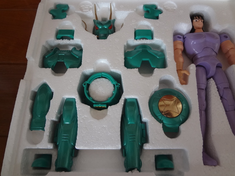 Heavy Metal Dragon Shiryu Saint Seiya Vintage (AB Cond)